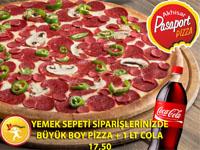 Pasaport Pizza'da büyük boy pizza fırsatı