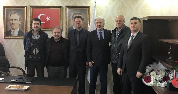 Akhisar OSB'den AK Parti il başkanı Hızlı'ya ziyaret