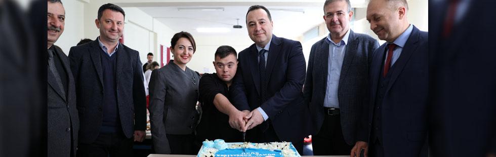 Başkan Dutlulu'dan Dünya Engelliler Farkındalık Gününde özel ziyaretler