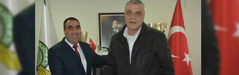 Akhisarspor'da başkanlık değişimi
