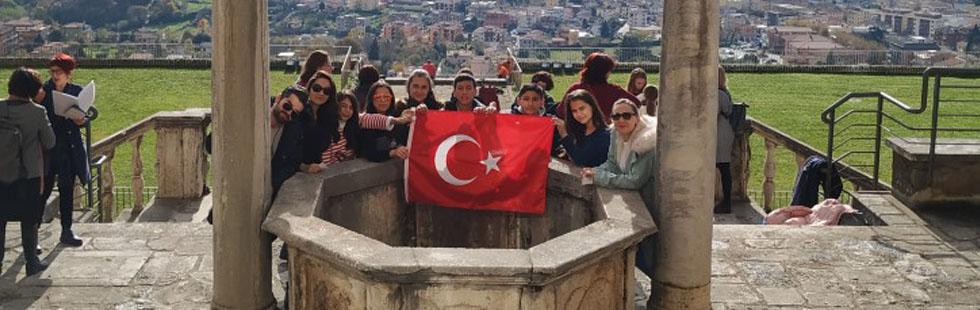 Şehit Ali Aksoy Ortaokulu İtalya'daydı