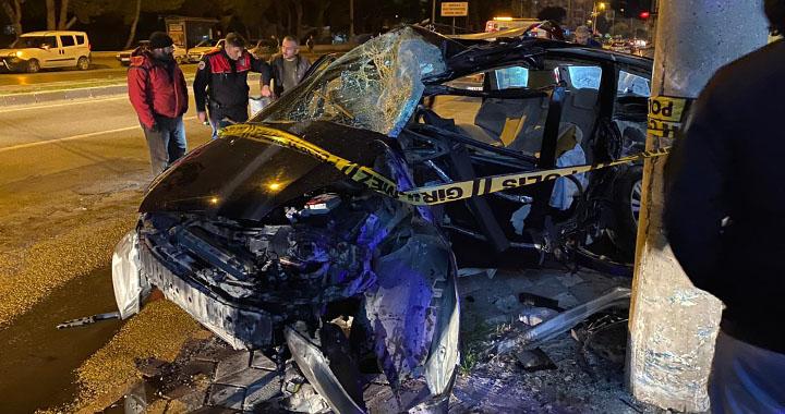 Akhisar'da yeni yılın ilk kazası, biri ağır iki yaralı!