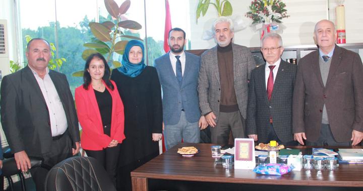 AK Parti İl Başkanı Hızlı'dan AK Parti Akhisar ilçe teşkilatına ziyaret