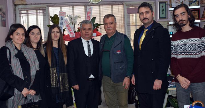 Ahmet Akbuğa, çalışan gazeteciler gününü kutladı