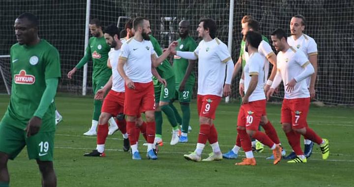 Akhisarspor, Çaykur Rizespor ile 2-2 berabere kaldı