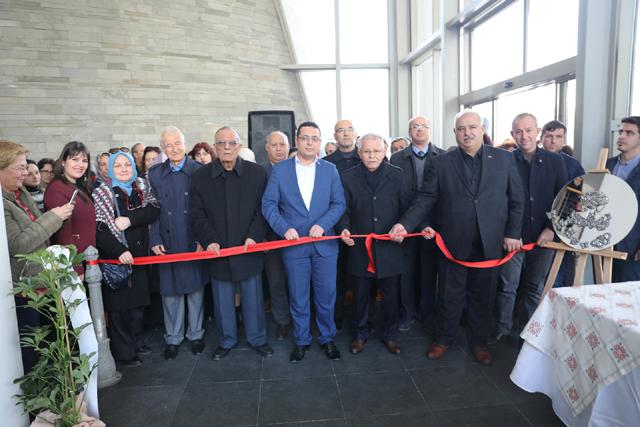 El işi ve Ev Dekorasyon Ürünleri Sergisi açıldı