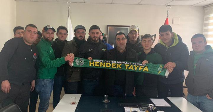 Hendek Tayfa'dan Akhisarspor'a ziyaret