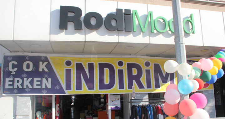 %70'ten Başlayan İndirim Fırsatı Rodi Mood'ta !