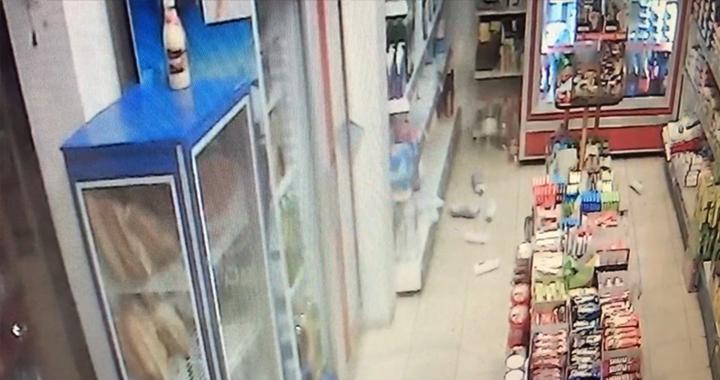 İşte depremin ardından ortaya çıkan güvenlik kameraları görüntüleri