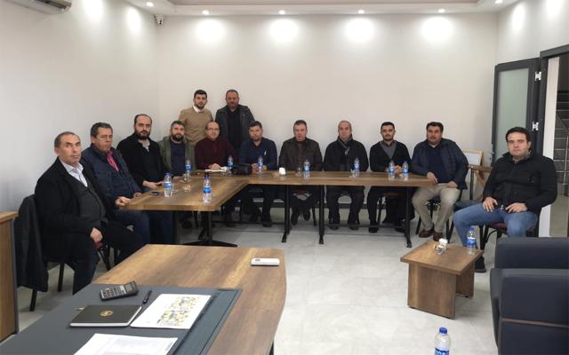 Zeytin ihtisas OSB'de ilk toplantı yapıldı