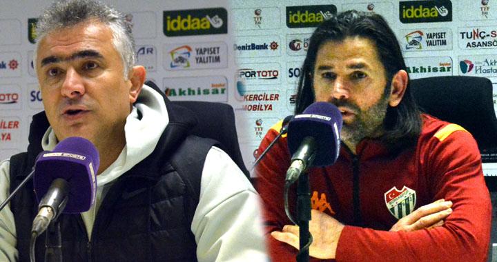 Akhisarspor, Bursaspor maçı ardından