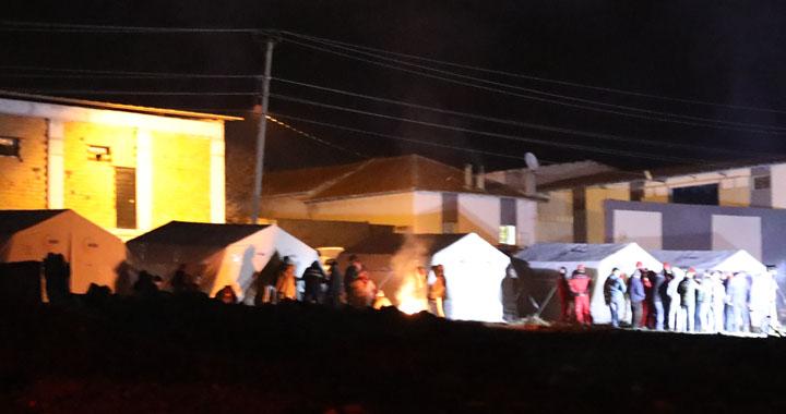 Tütenli Mahallesi AFAD çadırları kuruldu
