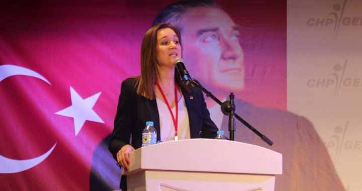CHP'de Örgütün kararı Gülşah Durbay