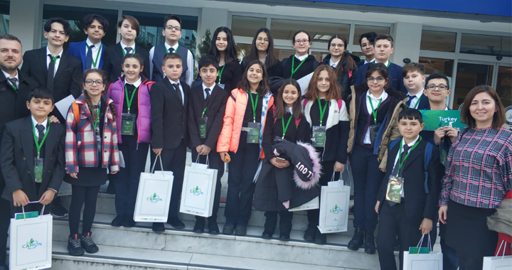 Ülkü Ortaokulu, 2. CAMUN'20 konferansından ödülle döndü