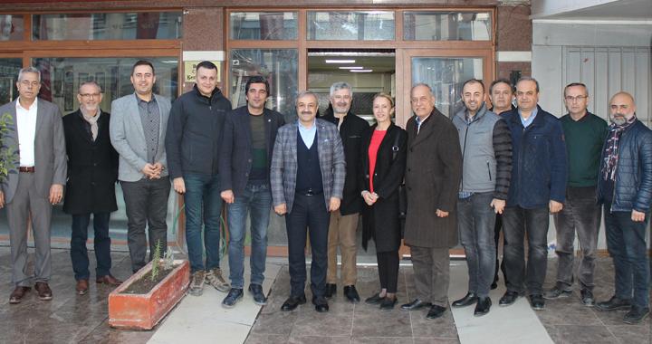 ATSO'dan CHP ilçe yönetimine ziyaret