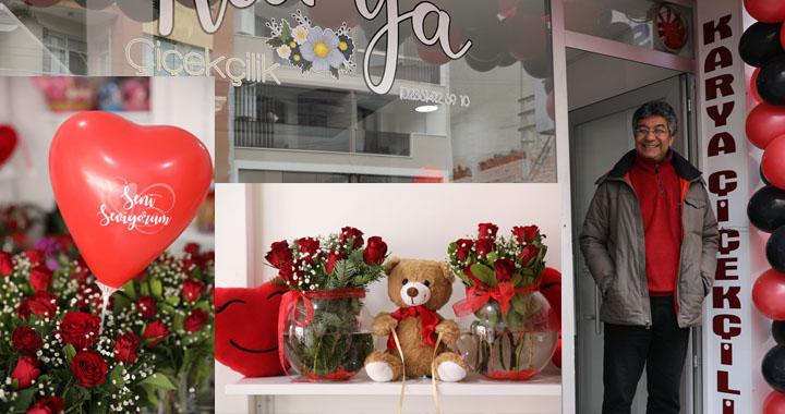 Sevgililer Günü'nde çiçeksiz kalmayın