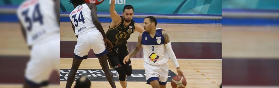 Akhisar Basket, Finalspor deplasmanında kayıp! 72-67