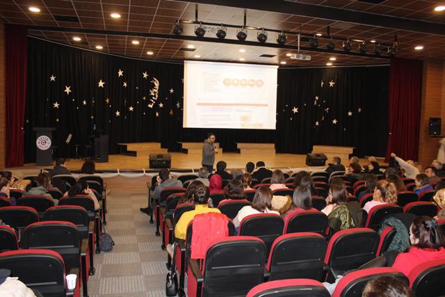 Eksen Okullarında, iş sağlığı güvenliği konferansı