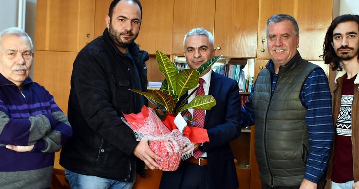 Yerel basın mensupları, Vergi Dairesini ziyaret etti