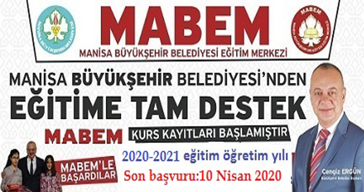 MABEM 2020-2021 YKS-LGS ön kayıtları başladı