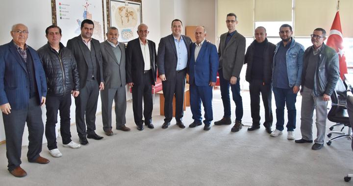 İYİ Parti İlçe Başkan Adayı Sakallı'dan, Dutlulu'ya ziyaret