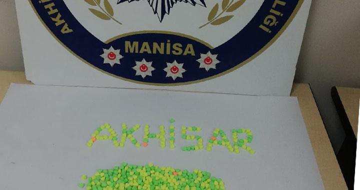Akhisar'da uyuşturuculara darbe