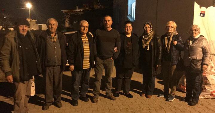 Yurtsever'den delege ziyaretleri