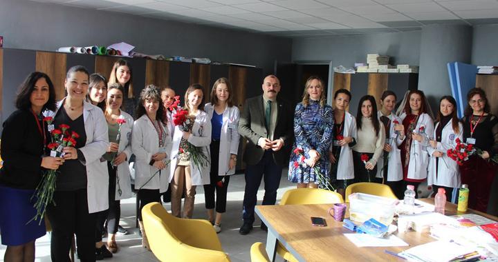 Eksen Okulları dünya kadınlar gününü kutladı