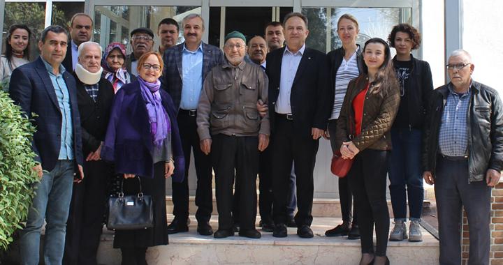 ATSO ve Kadın Girişimcilerden Huzurevi ziyareti