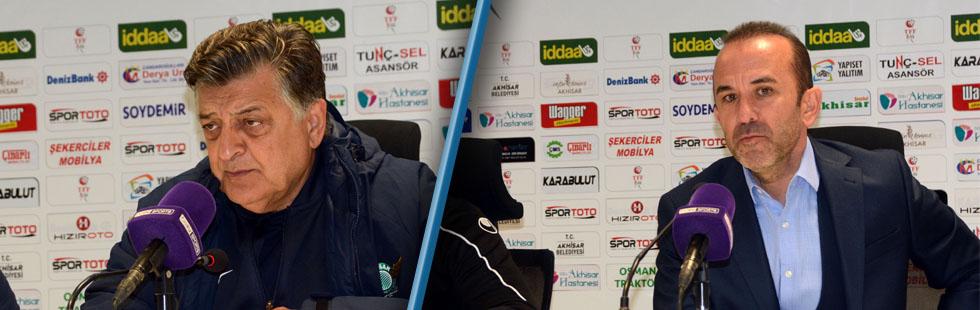 Akhisarspor, Büyükşehir Belediye Erzurumspor maçı ardından