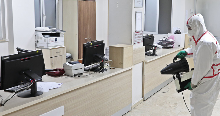 Akhisar Belediyesi, virüslere geçit vermiyor!