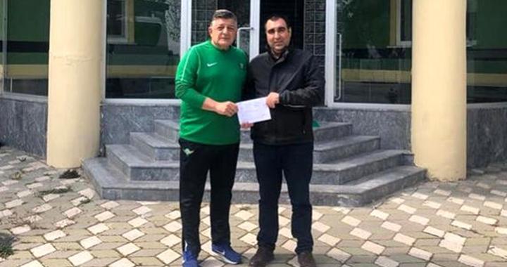 Akhisarspor'dan Milli Dayanışma Kampanyası'na katkı