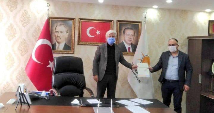 AK Parti Akhisar İlçe Başkanı Füzün'e görev tebliğ edildi