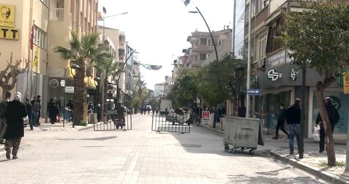 Akhisar'da sokaklar bugün daha sakin
