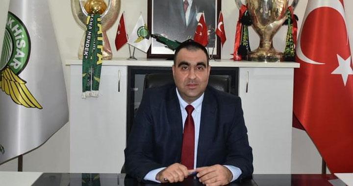 Akhisarspor Başkanı Karabulut, 50.yılı kutladı