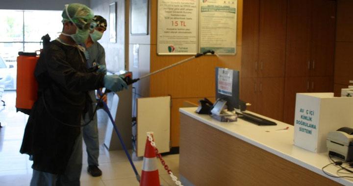 Özel Akhisar Hastanesi'nde koronavirüs önlemleri üst düzeyde alınıyor