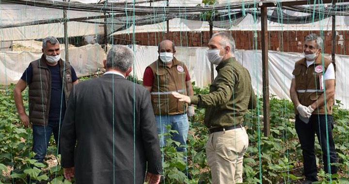 Akhisarlı çiftçilere koronavirüs önlemleri anlatıldı