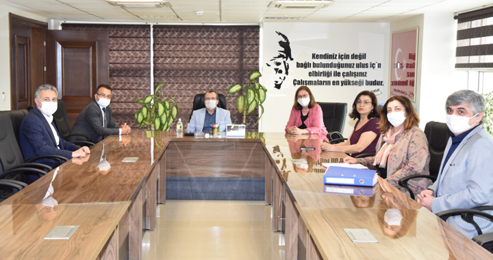 MASKİ AK Parti Manisa Milletvekili Uğur Aydemir'i Ağırladı