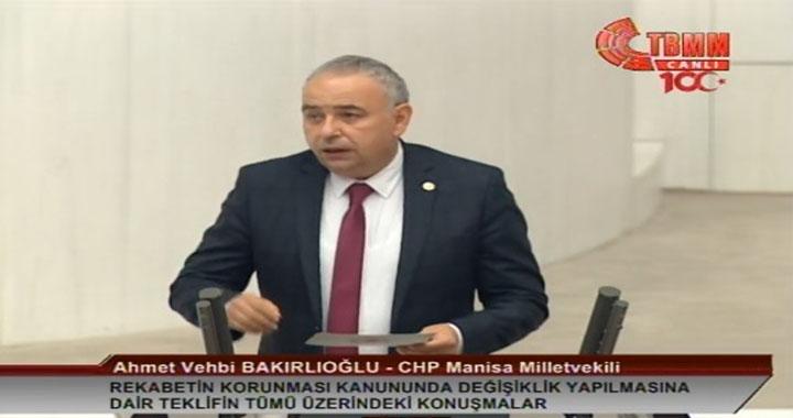 """Bakırlıoğlu: AKP'nin sistemi """"Ahbap çavuş kapitalizmi"""""""