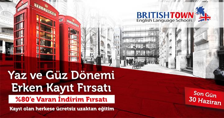 British Town'da genel İngilizce kursları başlıyor