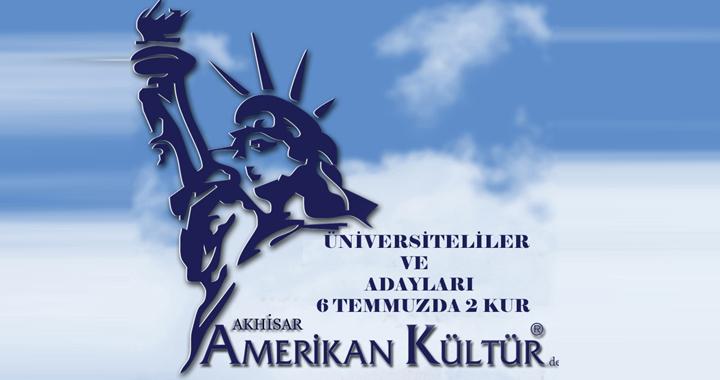 Amerikan Kültür Dil Kursu 2. Kur 6 Temmuz'da
