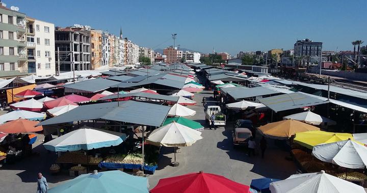Akhisar'da Pazar günü Pazar pazarı açılmayacak