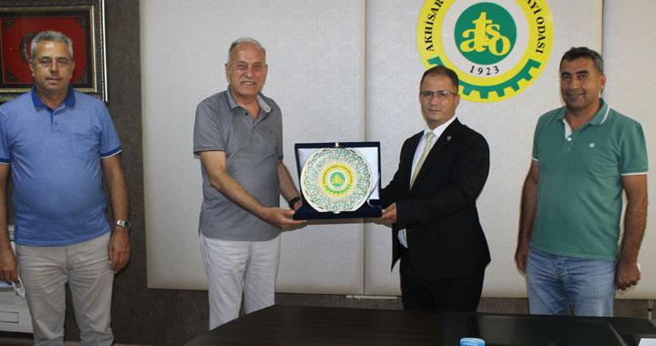 İl Emniyet Müdürü Uslusoy Atso'yu ziyaret etti