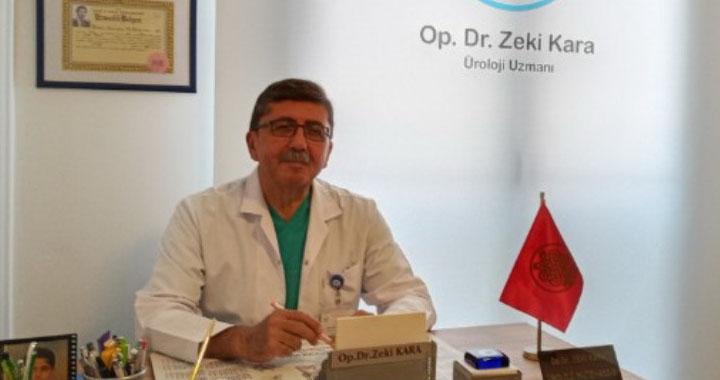 Üroloji Uzmanı Op. Dr. Zeki Kara, muayenehanesinde hasta kabulüne başladı