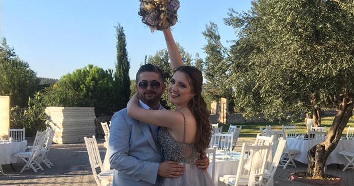 Meltem ile Mehmet evliliğe ilk adımı attılar