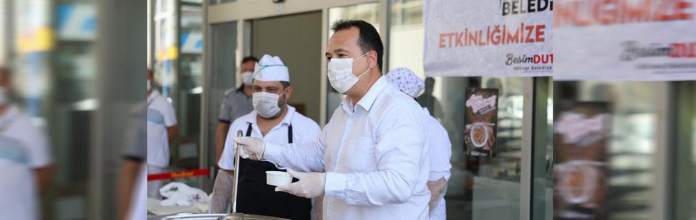 Akhisar Belediyesi'nden aşure etkinliği