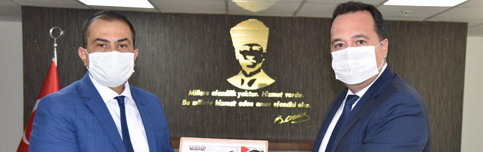 Dutlulu'dan Genel Müdür Aslay'a hayırlı olsun ziyareti