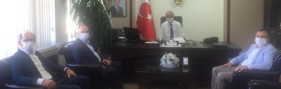 Milletvekili Aydemir'den Kaymakam ve Emniyet Müdürüne ziyaret