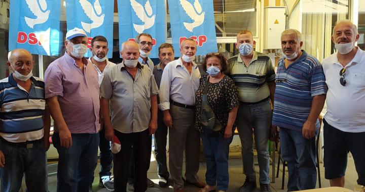 DSP'de Nurettin Demirsu İlçe başkanı oldu
