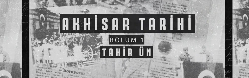 Akhisar Belediyesi'nde Şehit Teğmen Tahir Ün'e özel video